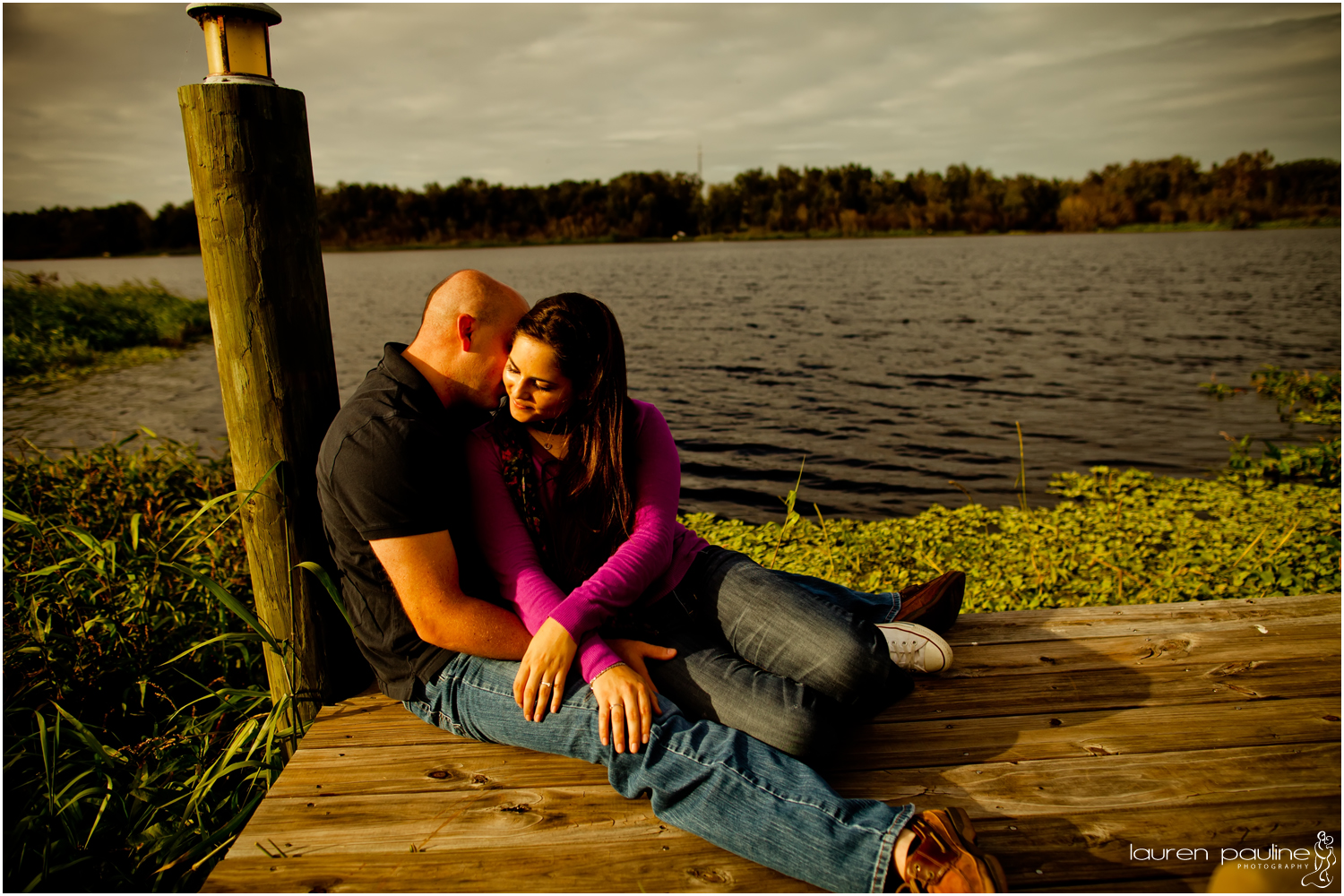 Engagement Portraits in Tampa, Florida