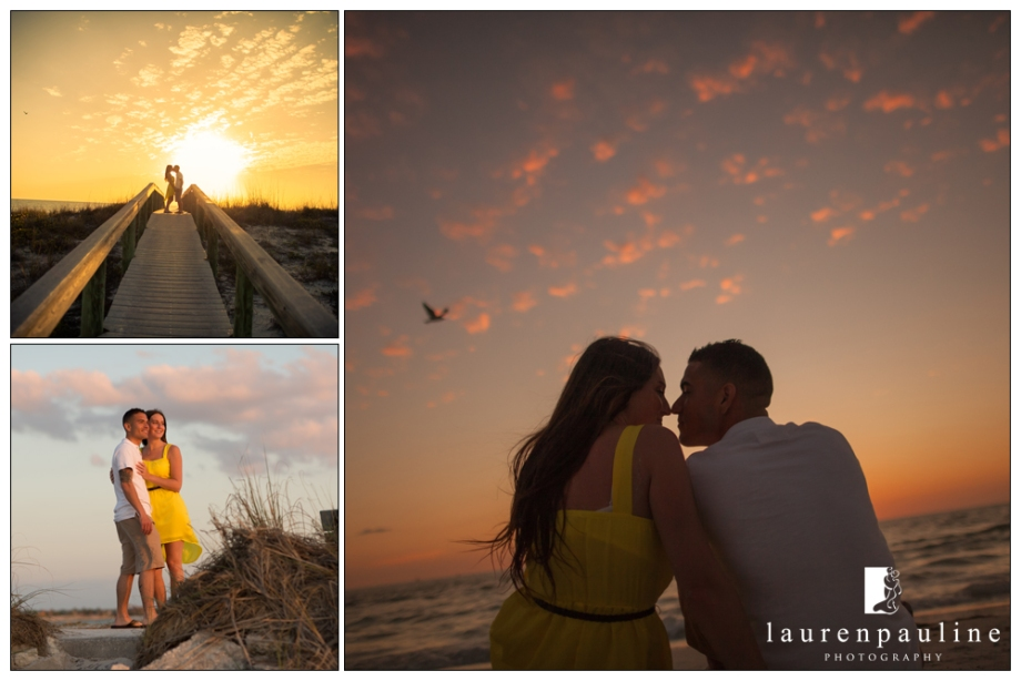 Engagement beach photos