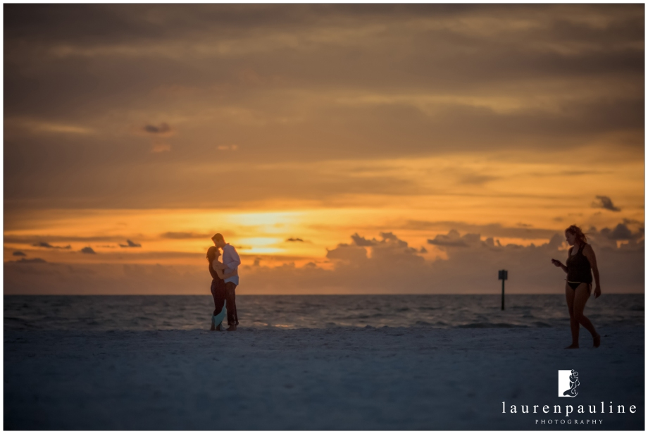 Sunset engagement images