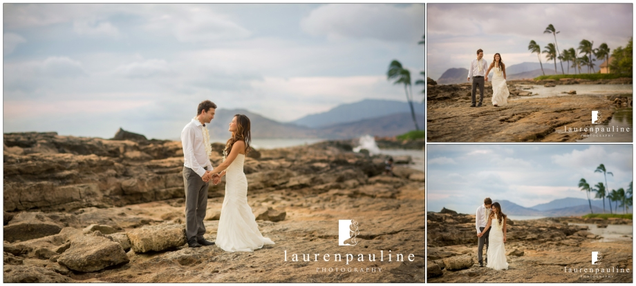 lanikuhonua hawaii wedding photos